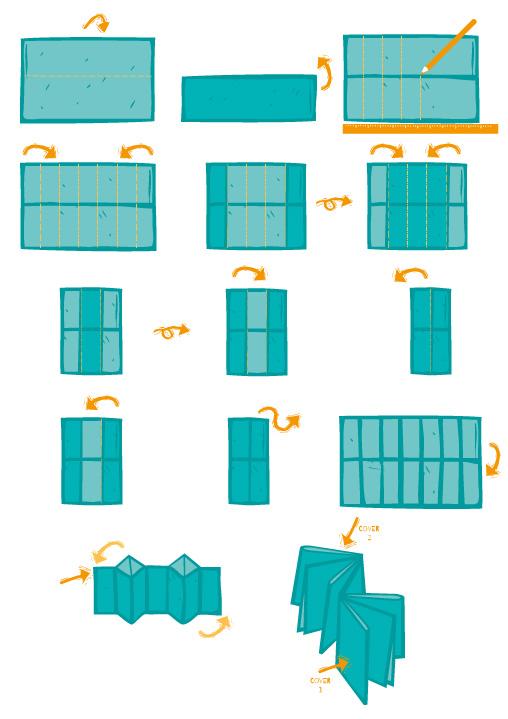 DIY zum Doppel X-Faltbuch