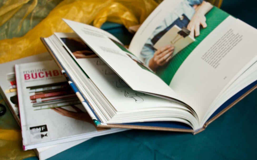 Tolle Bücher übers Buchbinden
