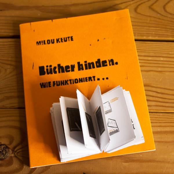 Dummy für Projekt Bücher binden