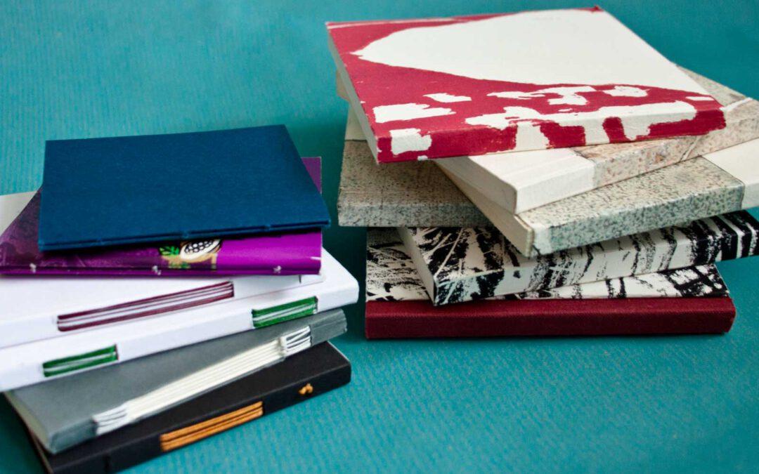 Verschiedene Formen der Broschur